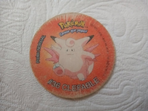 Tazo Clefable - Pokémon - Número 7