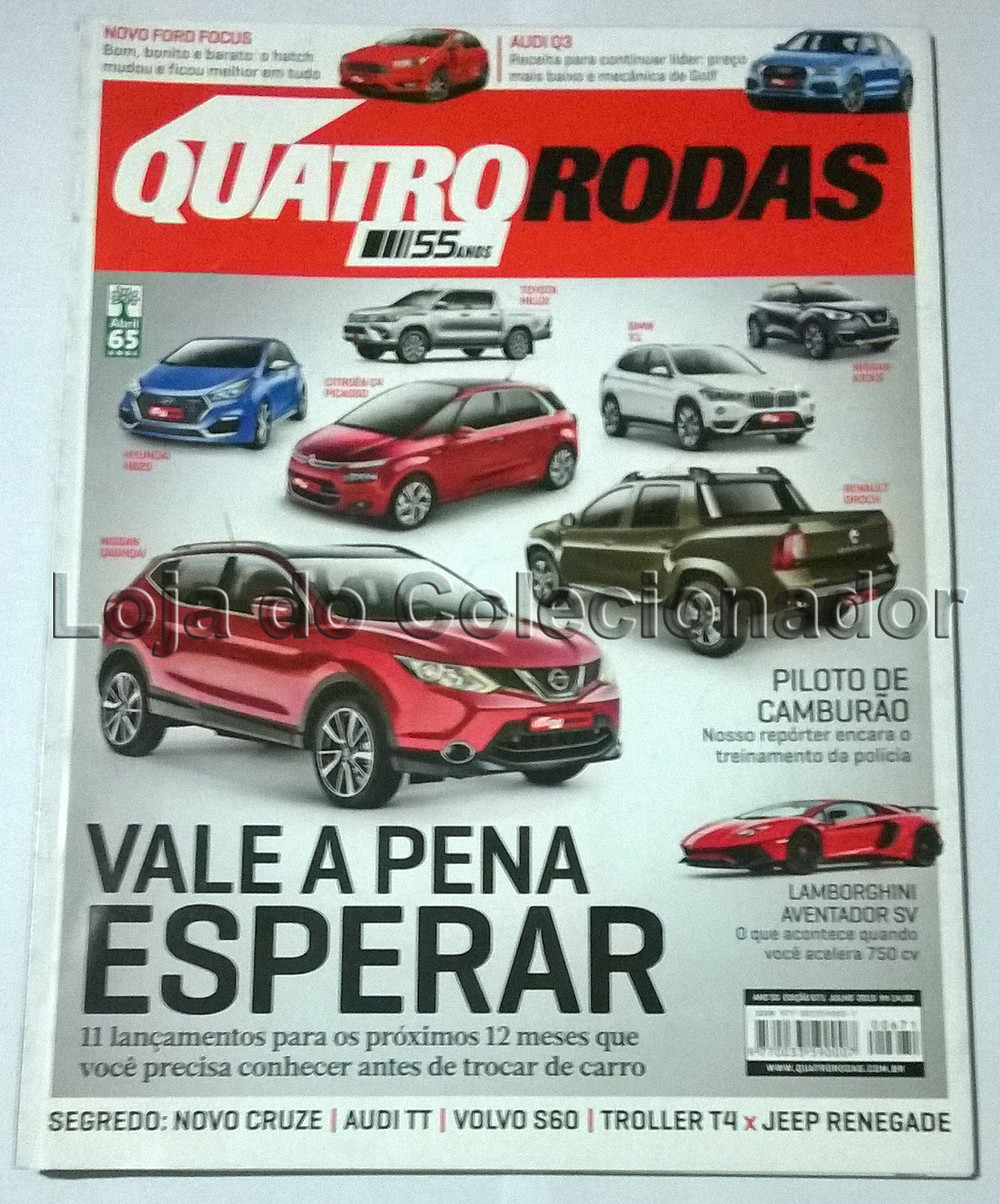 Revista Quatro Rodas - Número 671 - Julho de 2015