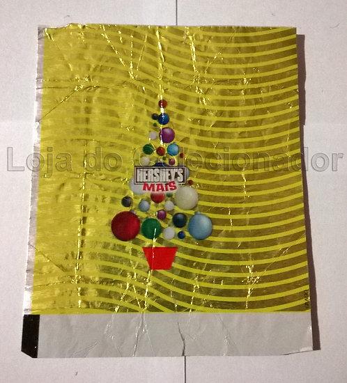 Embalagem Hershey's Mais - Natal - Amarela - Coleção