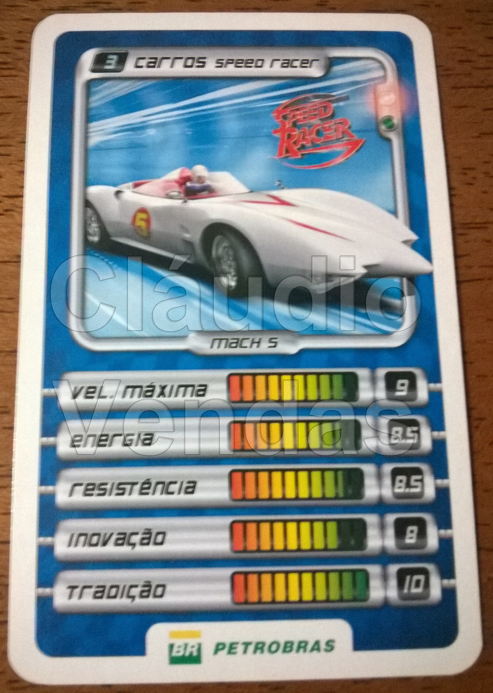 Super Trunfo BR Petrobrás - Speed Racer