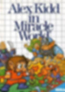 Alex Kidd In Mirace World - Master System