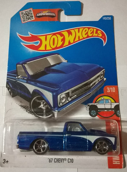 Carrinho 67 Chevy C10 - Hot Wheels