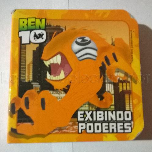 Mini Livro Cartonado Ben 10 - Exibindo Poderes