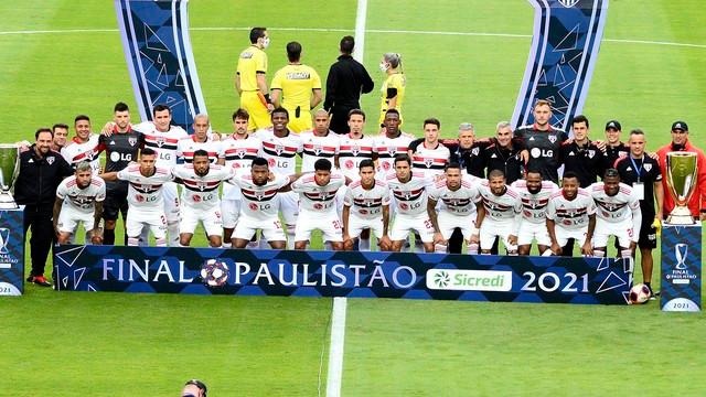 Time do São Paulo: Fonte: (Foto: Marcos Ribolli) - site da Globo