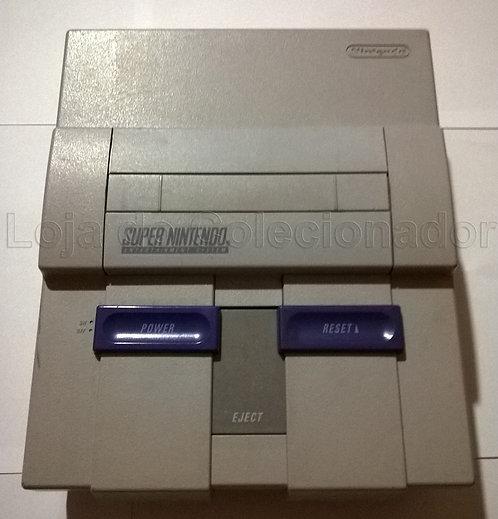 Videogame Super Nintendo com Defeito (Apenas o Aparelho)