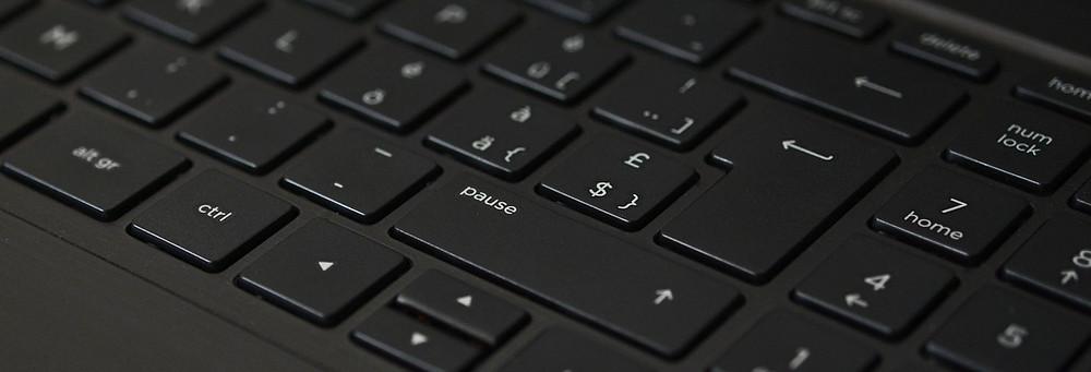 Teclado de um Computador