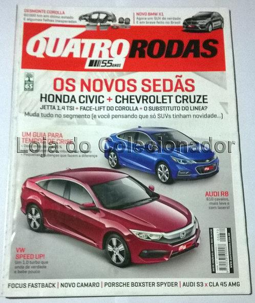 Revista Quatro Rodas - Número 672 - Agosto de 2015