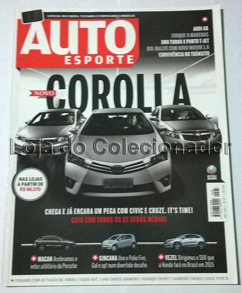 Revista Auto Esporte - Número 587 - Abril de 2014