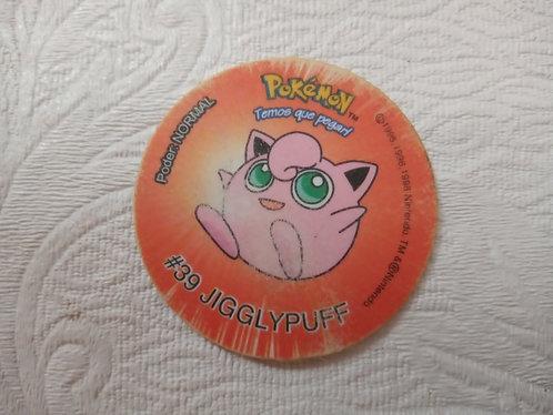 Tazo Jigglypuff - Pokémon - Número 10