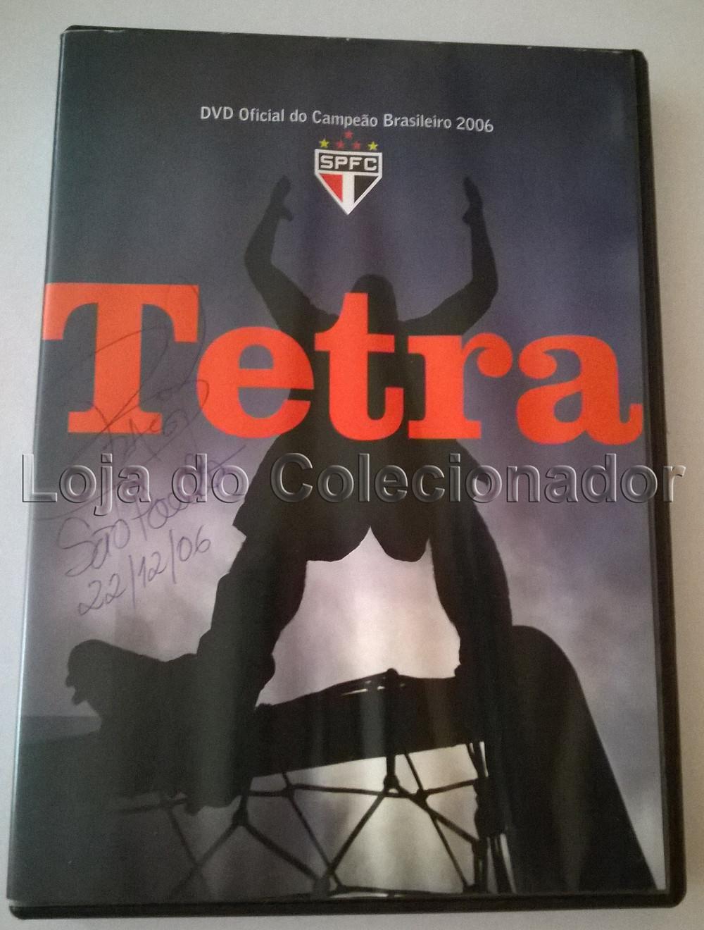 DVD - São Paulo Tetracampeão Brasileiro 2006