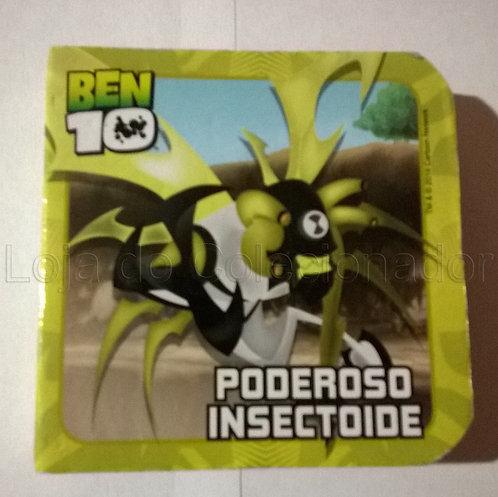Mini Livro Cartonado Ben 10 - Poderoso Insectoide