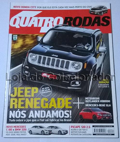 Revista Quatro Rodas - Número 661 - Outubro de 2014