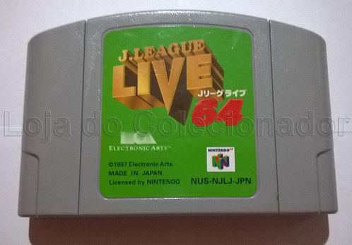 Fita J. League Live 64 - Nintendo 64 - Original