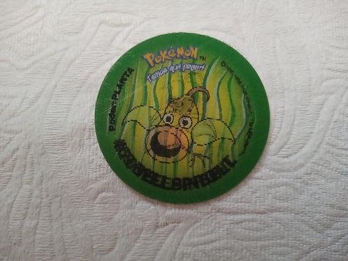 Tazo Bellsprout - Evolutazo - Pokémon - Número 55