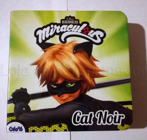 Mini Livro Cartonado - Miraculous - Cat Noir