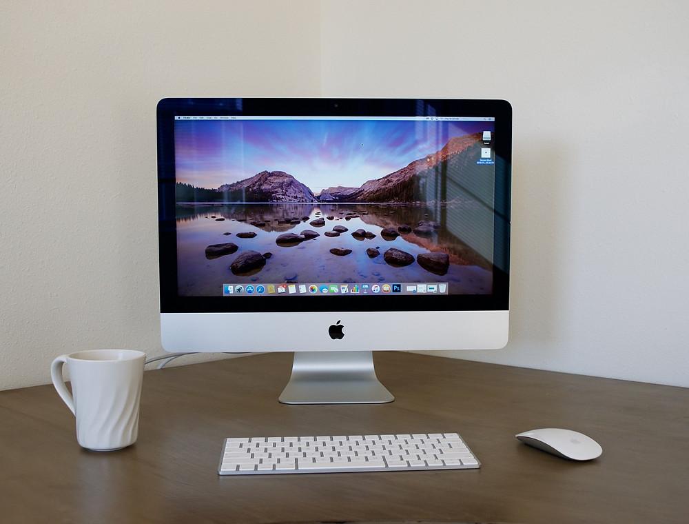 Exemplo de um Computador de Mesa