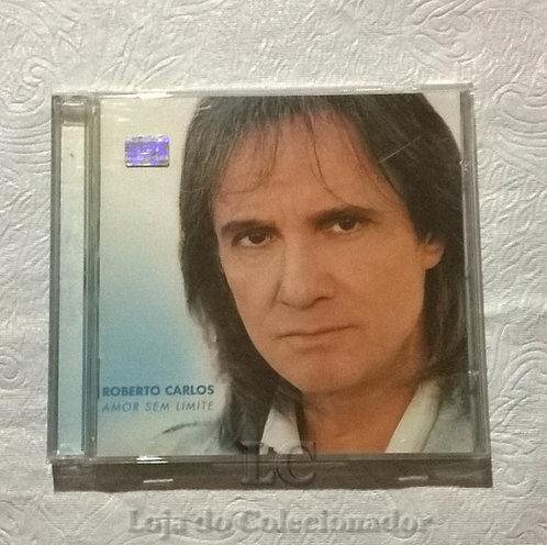 CD original Roberto Carlos - Amor sem Limite