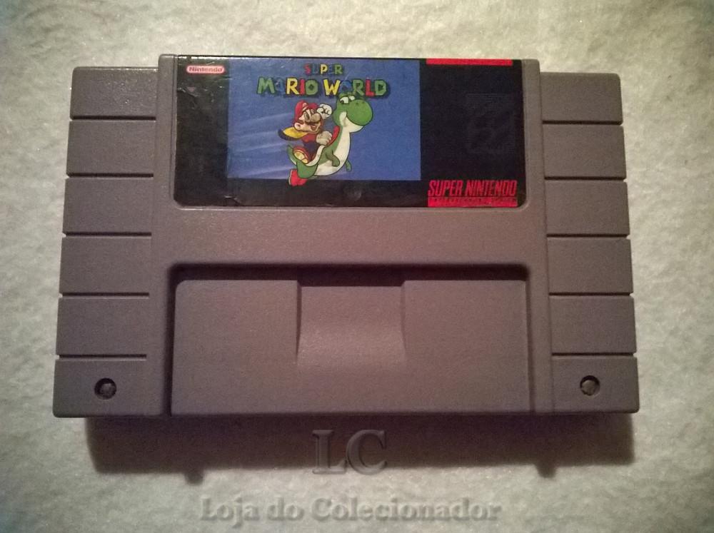 Jogo Super Mario World - Loja do Colecionador