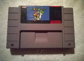 Jogo Super Mario World do Super Nintendo