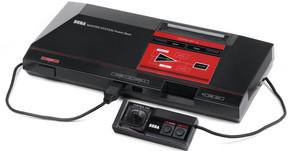 Videogame Master System Azul com 132 jogos na memória