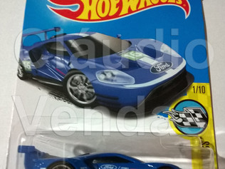 Carrinho 2016 Ford GT Race - Hot Wheels