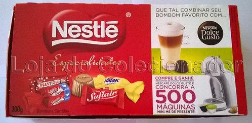 Caixa Nestlé Especialidades (Vermelha) - Promocional - Vazia