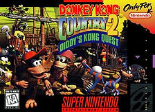Donkey Kong Country 2 - Super Nintendo