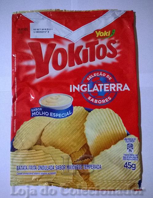 Embalagem Yokitos - Copa do Mundo Inglaterra - Vazia