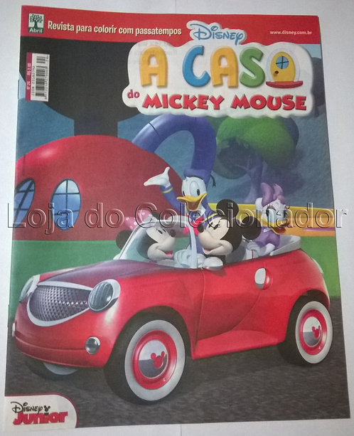 Revistas para Colorir/Brincar - Mickey (2 Revistas) - 2017