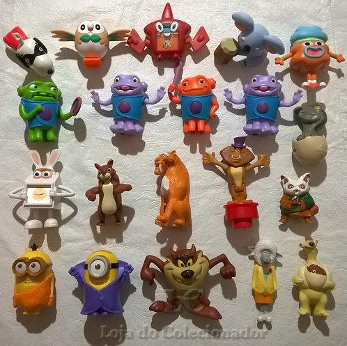 Lote com 20 Brinquedos Antigos (Sem Som)