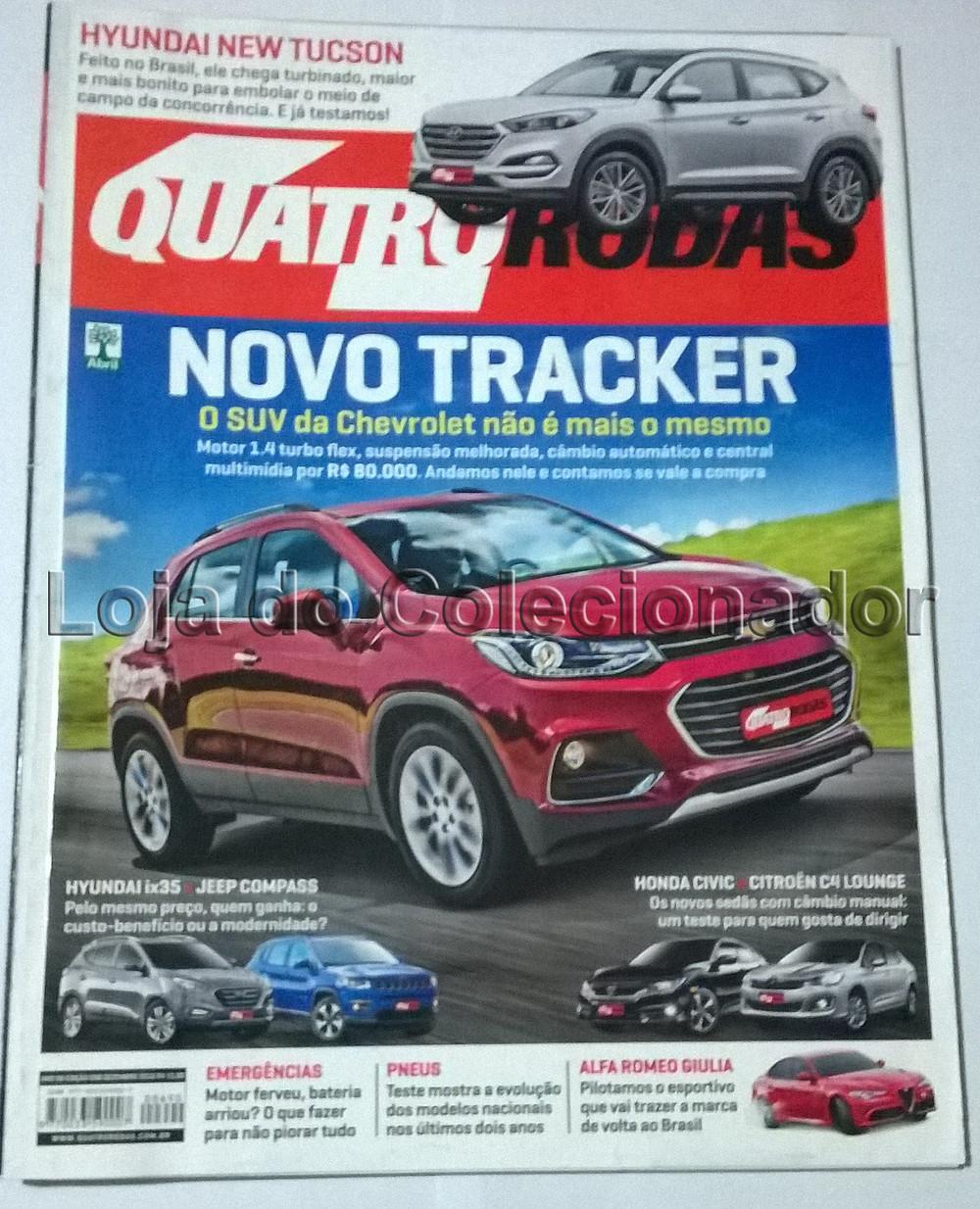 Revista Quatro Rodas - Número 691 - Janeiro de 2017