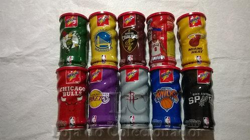 Coleção com 10 Latas de Nescau - NBA