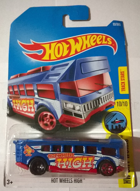 Carrinho Hot Wheels High - Hot Wheels