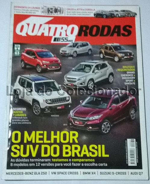 Revista Quatro Rodas - Número 669 - Maio de 2015