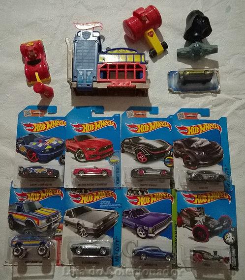 Lote com 13 Brinquedos Antigos
