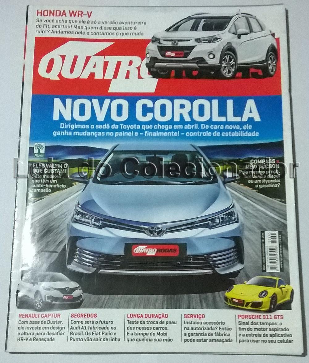 Revista Quatro Rodas - Número 693 - Março de 2017