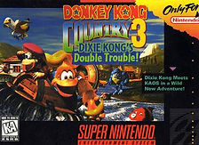 Donkey Kog Country 3 - Super Nintendo