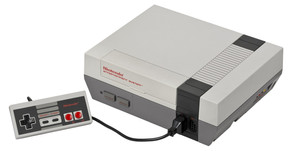 Videogame NES Classic Edition com 30 jogos na memória