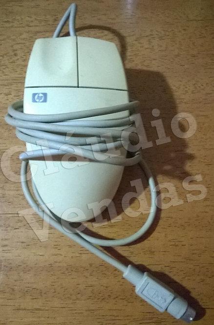 Mouse HP Antigo com 2 Botões