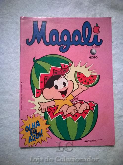 Gibi da Magali - Número 1 - Editora Globo