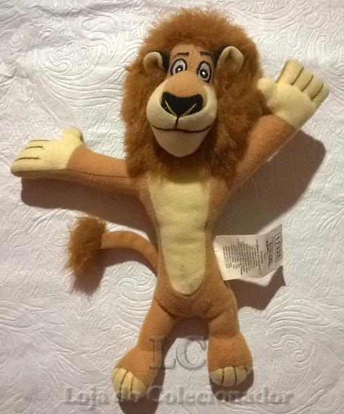 Boneco de pelúcia - Leão Alex - Madagascar