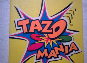 Livro Ilustrado Álbum Tazo Mania da Elma Chips