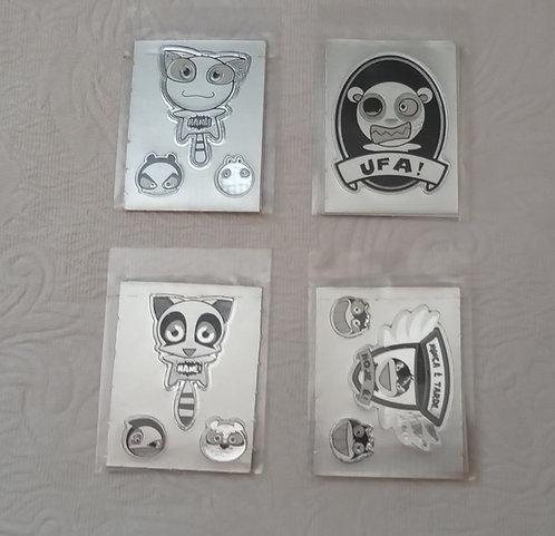 Adesivos Stickers Funki-punky - lacrados