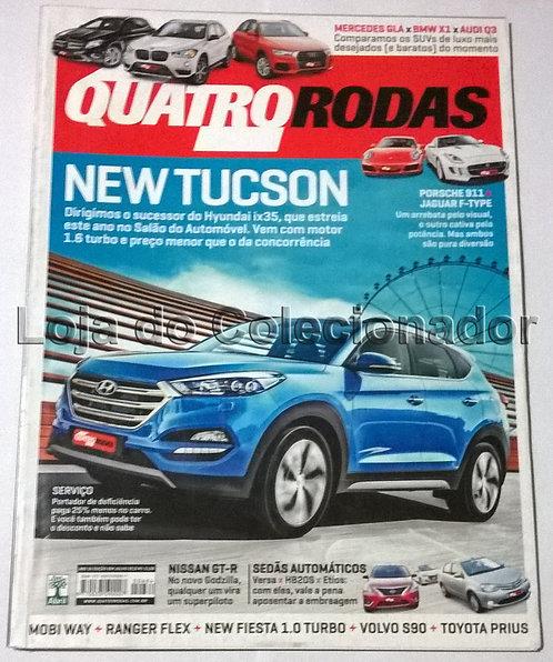 Revista Quatro Rodas - Número 684 - Julho de 2016