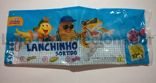 Embalagem Vazia Pacote Promocional Salgadinhos Elma Chips