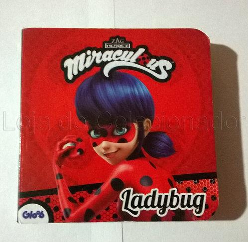 Mini Livro Cartonado - Miraculous - LadyBug