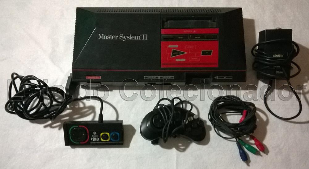Videogame Master System II com Alex Kidd na Memória - Loja do Colecionador