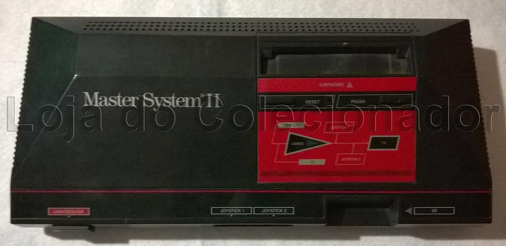Videogame Master System II - com jogo Alex Kidd na Memória - Loja do Colecionador