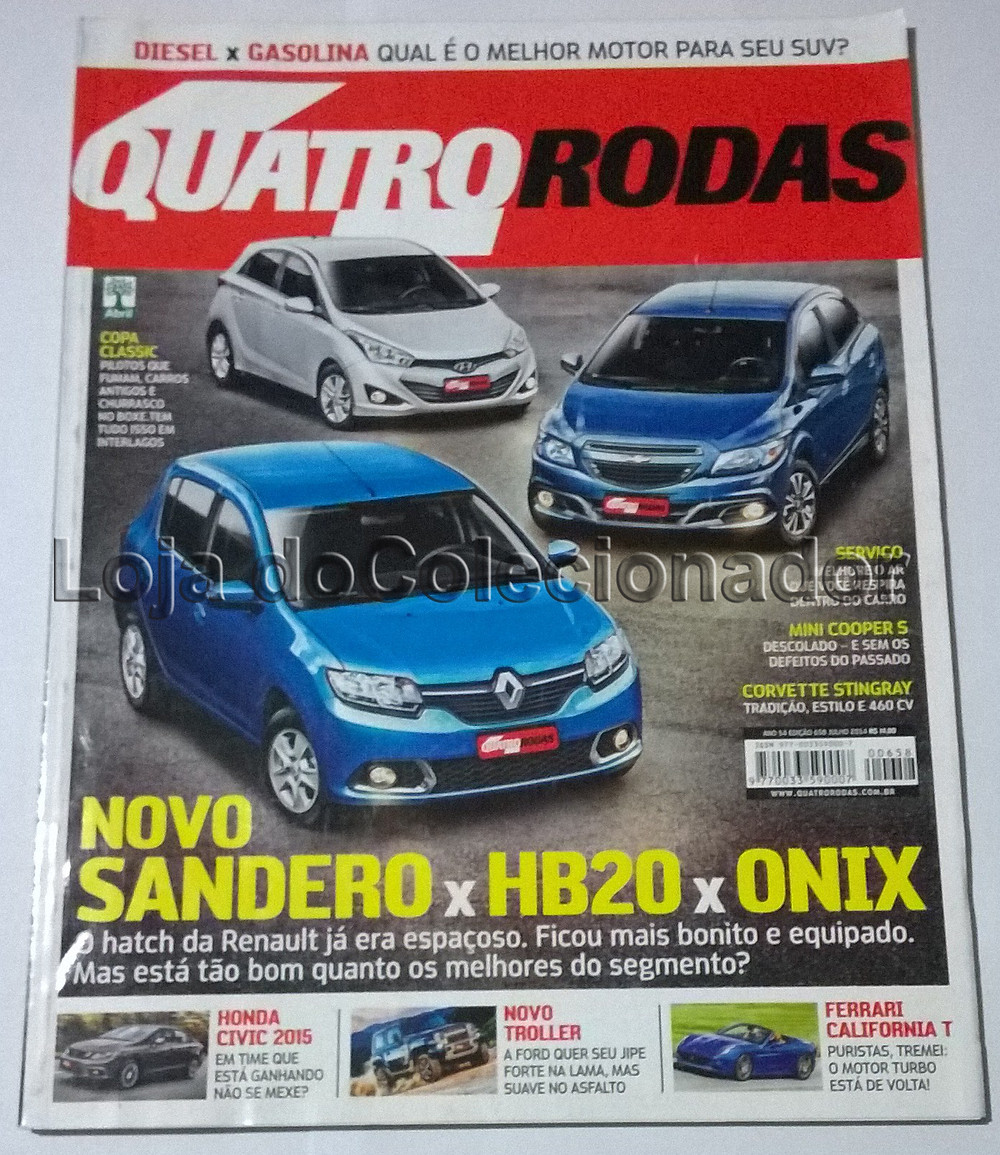 Revista Quatro Rodas - Número 658 - Julho de 2014