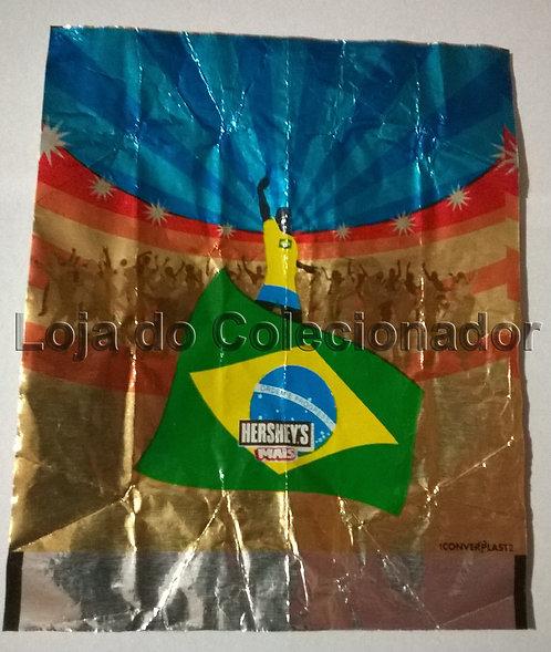 Embalagem Hershey's Mais - Copa do Mundo - Vazia